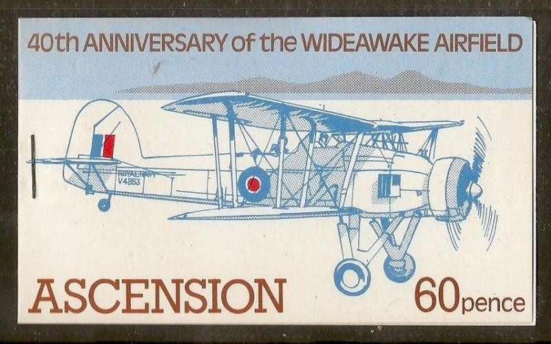 Ascension 1982 WWII Aircraft Booklet SB4