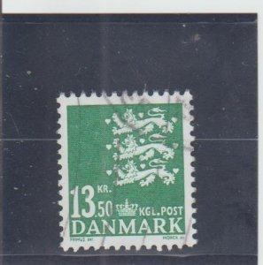 Denmark  Scott#  1305  Used  (2007 State Seal)