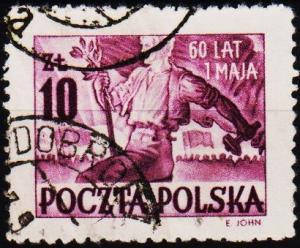 Poland. 1950 10z S.G.668 Fine Used