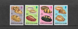 SHELLS - GILBERT & ELLICE ISLANDS #241-244