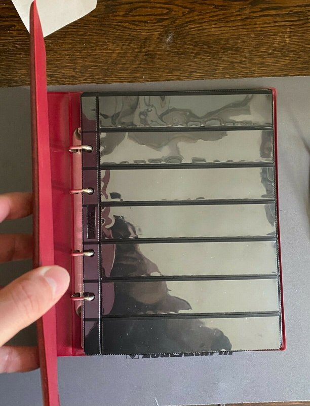 KRAUSE Ringbinder and Sheets For Stamp Collection or Banknotes Collection
