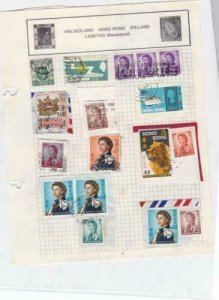 hong kong stamps on page ref r14416