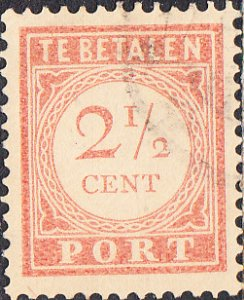 Netherlands Indies #J26  Used