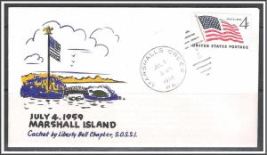 US #1132 Flag Special Event 2nd Day Cover