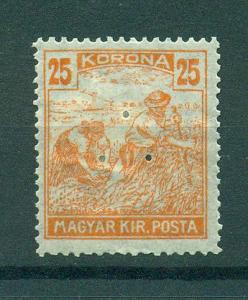 Hungary sc# 353a mhr cat value $.25