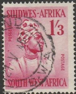 South West Africa, #256 Used, From 1954