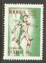 BRAZIL 887 MNH WORLD CUP O334
