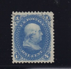 102 VF-XF APS cert face free cancel with nice color ! see pic !