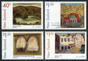 New Zealand 1597-1600, MNH. Paintings by Doris Lusk, 1999