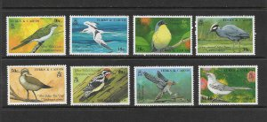 BIRDS - TURKS & CAICOS #806-13   MNH