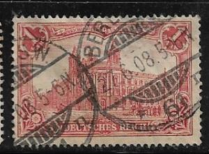 Germany Mi. #94 A I / Sc. #92  used L74