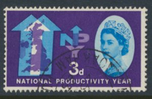 Great Britain  SG 632  SC# 388 Productivity Year  Used see detail and scan