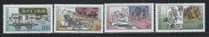 GERMANY - DDR SC# 2841-4 F-VF MNH 1990