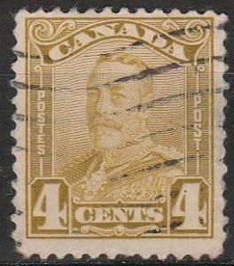 Canada #152  F-VF Used  CV $6.00  (A17448)