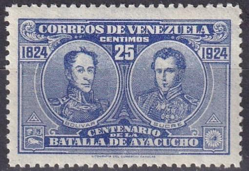 Venezuela #286A  F-VF Unused  CV $3.50  (A19854)