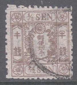 JAPAN  An old forgery of a classic stamp....................................C986