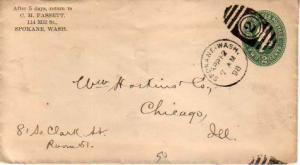 United States, Washington, Postal Stationery