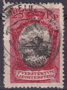 Liechtenstein  #63  F-VF Used  CV $5.00 (Z3152)