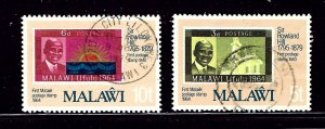 Malawi 354-55 Used 1979 issues
