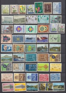 J29752,  iceland mh/used lot all different