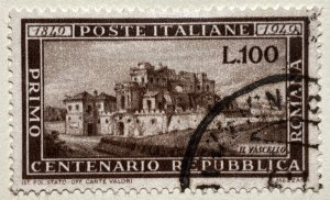 AlexStamps ITALY #518 SUPERB Used