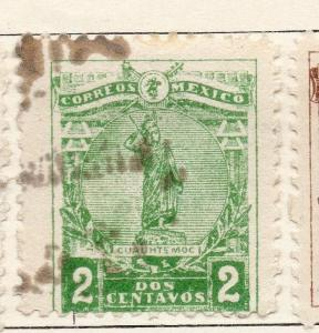 Mexico 1915 Early Issue Fine Used 2c. 133841