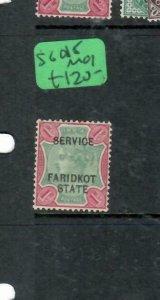 INDIA FARIDKOT  (PP0305B) SERVICE QV  1R      SG O15       MOG