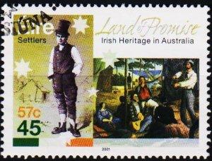 Ireland. 2001 45p S.G.1418  Fine Used