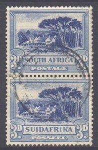 South Africa Scott 39 - SG45c, 1930 Bi-lingual 3d Pair used