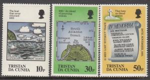 Tristab da Cunha, Sc 381-383, MNH, Lifeboat Set