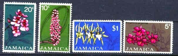 Jamaica MNH 375-8 Flowers 1973 SCV 7.40
