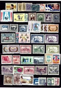 WW30 52 different stamps all Salvador all used