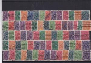 Germany Weimar republic 1918-1930 used Stamps Ref 16037
