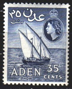 South Arabia. 1958. 66 from the series. Ship, doe. MVLH.