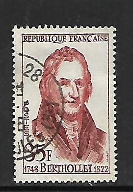 FRANCE, 872, USED, FRENCH SCIENTISTS