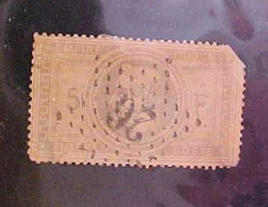 FRANCE STAMP #37 cat.$750.00 USED
