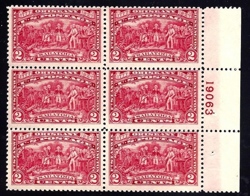 644 Mint,OG,H... Plate Block of 6... SCV $32.50