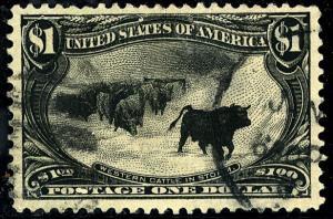 U.S. #292 Used F-VF