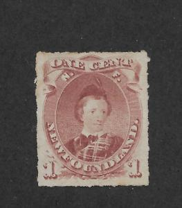Newfoundland Scott # 37 VF-NG scv $ 160 ! nice colors ! see pic !
