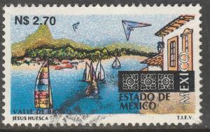 MEXICO 1797, N$2.70 Tourism Mexico, Valle de Bravo. USED. F-VF. (1381)