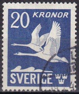 Sweden #C8c  F-VF Used CV $13.50  (Z6236)