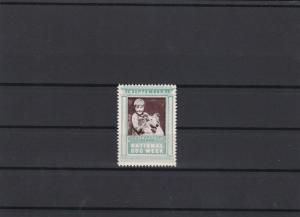 National Dog Week 1928 Faithfully Yours Mint Never Hinged Stamp ref 22601