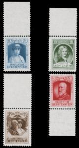 Liechtenstein 1929 ROYAL FAMILY PORTRAIT SET MNH #90-93 CV$77.00 [154965]