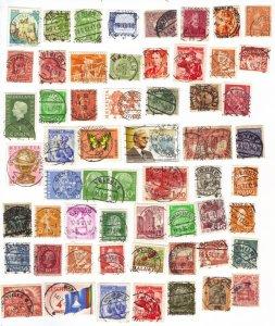 Worldwide postmarks mix #3