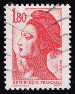 France #1798 Liberty; Used (0.25)