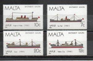 Malta 686-689 MNH