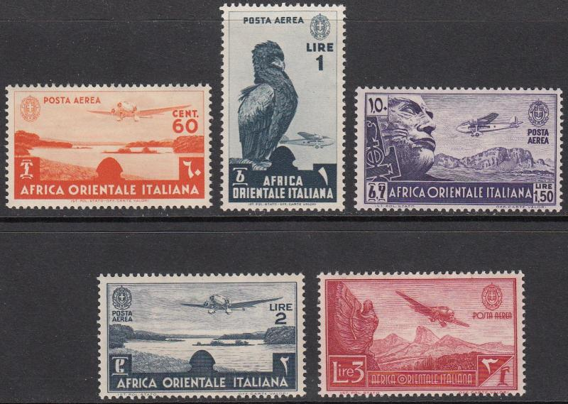 Italian East Africa C3//C8 MNH (see Details) CV $9.65