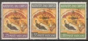Vatican City #458-60 Mint Never Hinged F-VF  (ST550)