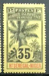 Upper Senegal & Niger #10 MH CV$5.50 Oil Palms