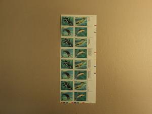 USPS Scott 2508-11 25c 1990 Sea Creatures Mint NH Plate B...